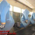 housse protection robot ABB IRB 5400 cover jetable automobile ASP eulmont
