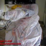 housse protection robot ABB 240 cover jetable mastic automobile ASP eulmont