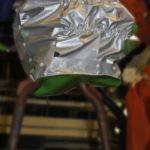 housse protection robot cover ferrage ignifuge tissu texalis a base aramide ASP eulmont